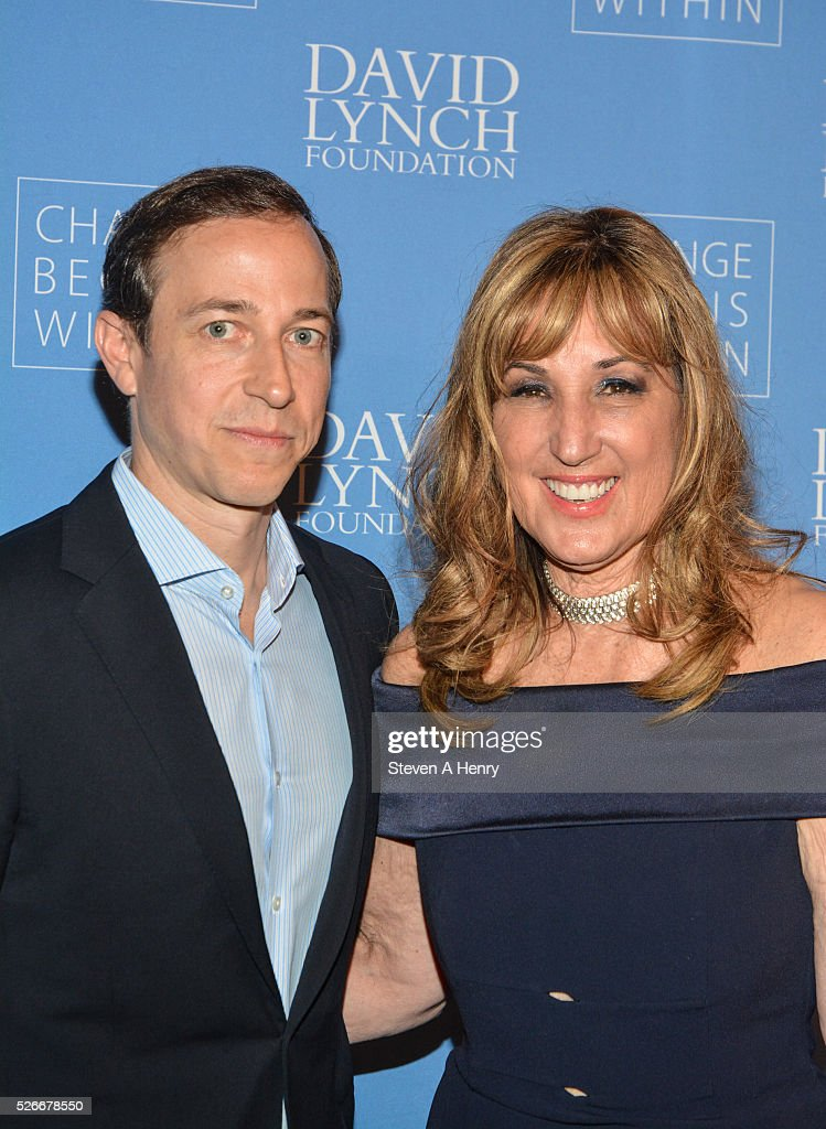 Executive Producer Michael Rauch and Producer Joanna Plafsky attend 'An Amazing Night Of Comedy: A David Lynch Foundation Benefit For Veterans With PTSD' at New York City Center on April 30, 2016 in New York City.