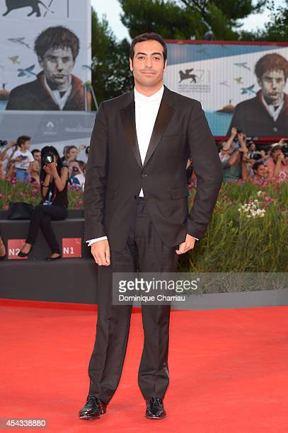 Executive producer Mohammed Al Turki attends the '99 Homes' Premiere during the 71st Venice Film Festival at Sala Grande on August 29 2014 in Venice...