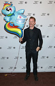 Executive producer Morgan Spurlock attends the 'A Brony Tale' Premiere during the 2014 Tribeca Film Festival at Chelsea Bow Tie Cinemas on April 26...