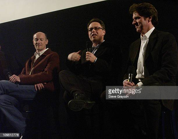 Executive producer Neil Meron screenwriter Bill Condon and director / choreographer Rob Marshall
