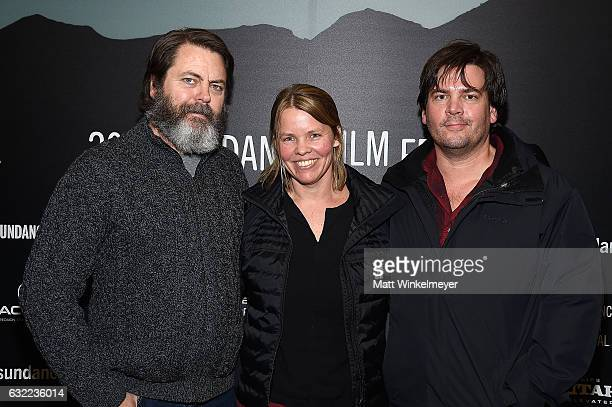 Executive Producer Nick Offerman CoDirector Jef Sewell and Director Laura Dunn attend the Independent Pilot Showcase during day 2 of the 2017...
