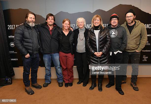 Executive Producer Nick Offerman CoDirector Jef Sewell Director Laura Dunn Mary Berry Tanya Berry and guests attend Look And See A Portrait Of...