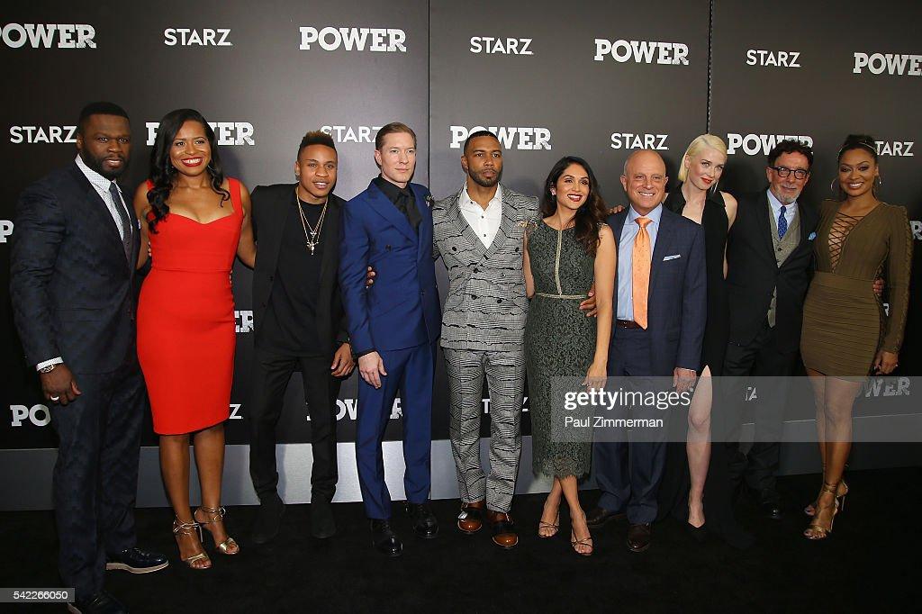 "DuJour Media's Jason Binn, Starz's Chris Albrecht, Curtis ""50 Cent"" Jackson And Omari Hardwick Host The Season Three Premiere Of ""Power"""