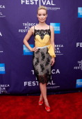Executive Producer Olivia Wilde attends 'Help Wanted' Shorts Program during the 2012 Tribeca Film Festival at the AMC Lowes Village on April 21 2012...