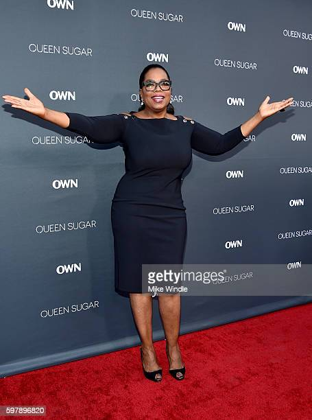 "Executive producer Oprah Winfrey attends OWN Oprah Winfrey Network's ""Queen Sugar"" premiere at the Warner Bros Studio Lot Steven J Ross Theater on..."