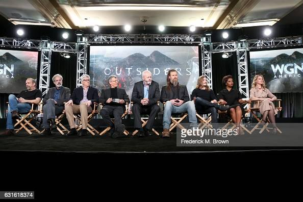 Executive producer Paul Giamatti creator/ executive producer Peter Mattei executive producer Peter Tolan executive producer/director Jon Amiel and...