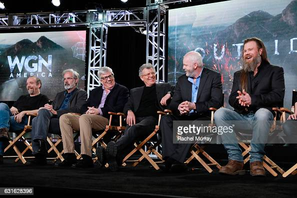 Executive producer Paul Giamatti creator Peter Mattei executive producer Peter Tolan director Jon Amiel and actors David Morse and Ryan Hurst speak...