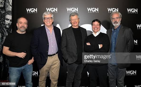 Executive producer Paul Giamatti executive producer Peter Tolan director John Amiel executive producer Michael Wimer and creator Peter Mattei attend...