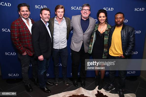 Executive Producer Peter Lenkov Co EP Jeff Downer Actor Lucas Till Moderator and TV Guide Magazine's Jim Halterman Actress Tristin Mays and Actor...