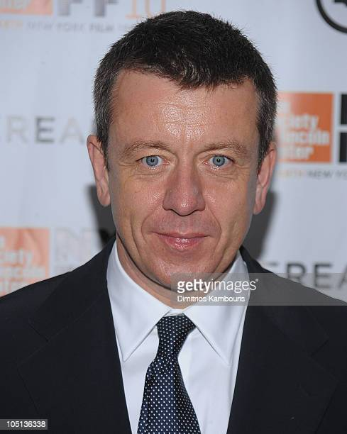 Executive Producer Peter Morgan attends the 'Hereafter' premiere during the 48th New York Film Festival at Alice Tully Hall Lincoln Center on October...