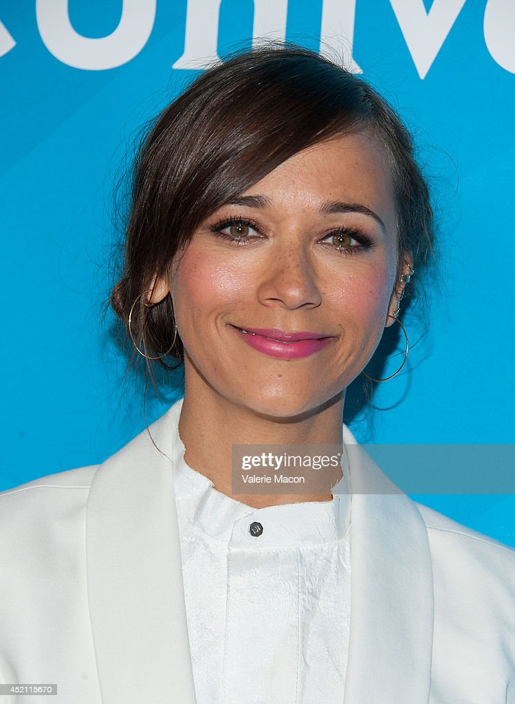 Executive producer <a gi-track='captionPersonalityLinkClicked' href=/galleries/search?phrase=Rashida+Jones&family=editorial&specificpeople=2133481 ng-click='$event.stopPropagation()'>Rashida Jones</a> attends NBCUniversal's 2014 Summer TCA Tour - Day 1 at The Beverly Hilton Hotel on July 13, 2014 in Beverly Hills, California.