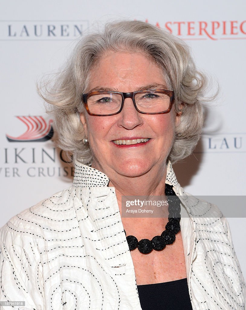Executive Producer Rebecca Eaton arrives at The Hollywood Reporter screening of PBS Masterpiece's 'Downton Abbey' Season 3 on December 7, 2012 in West Hollywood, California.