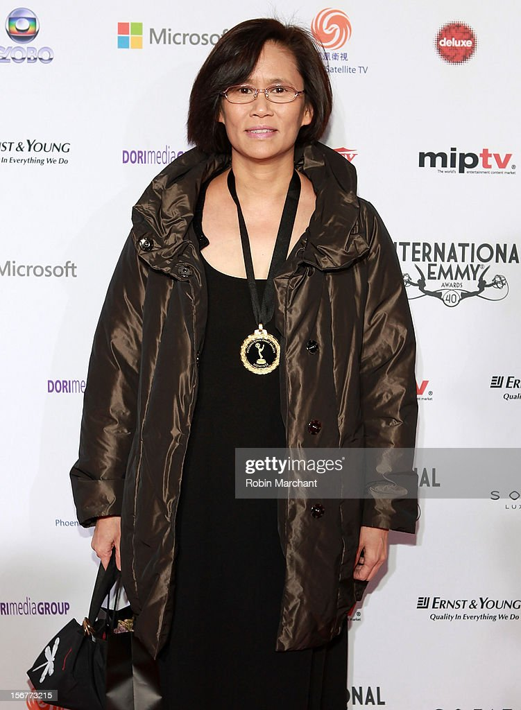 Executive producer Rita Chan attends the 40th International Emmy Awards on November 19, 2012 in New York City.