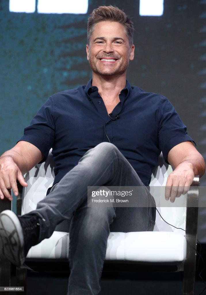 Executive producer Rob Lowe of 'The Lowe Files ' speaks onstage during the A+E portion of the 2017 Summer Television Critics Association Press Tour at The Beverly Hilton Hotel on July 28, 2017 in Beverly Hills, California.
