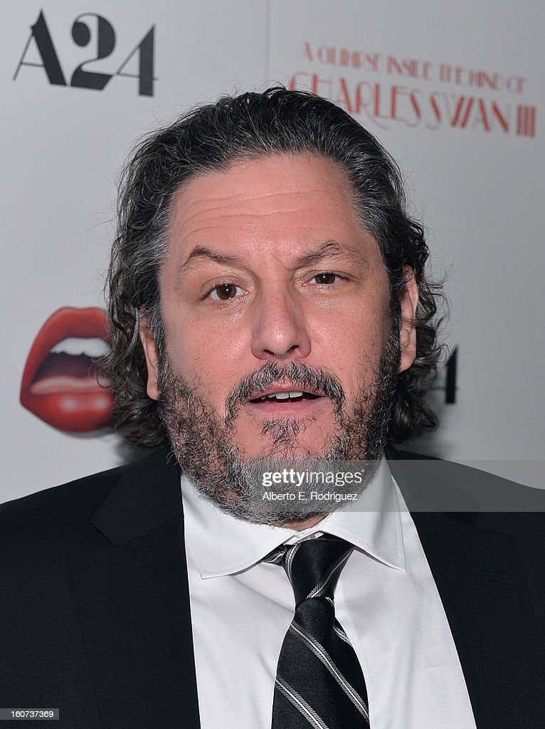 Executive Producer Robert Maron attends the Los Angeles premiere of A24's 'A Glimpse Inside The Mind Of Charles Swan III' at ArcLight Hollywood on February 4, 2013 in Hollywood, California.