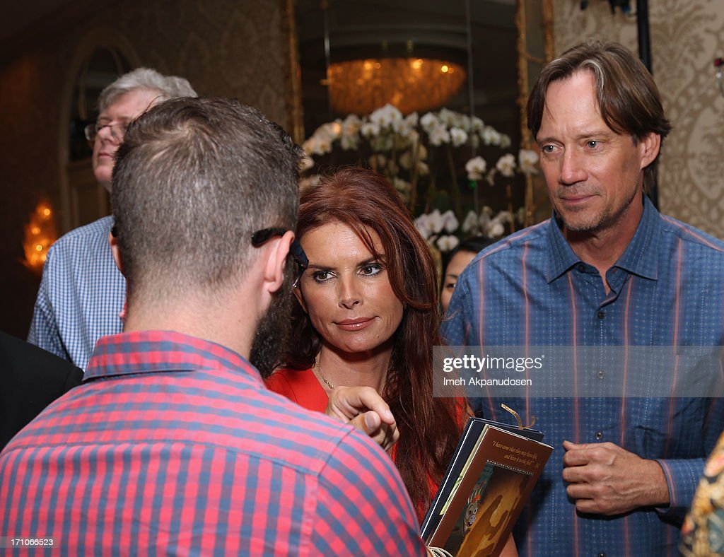 Executive Producer Roma Downey and Kevin Sorbo attend Variety's Purpose: The Faith And Family Summit in Association with Rogers and Cowan at Four Seasons Hotel Los Angeles on June 21, 2013 in Beverly Hills, California.