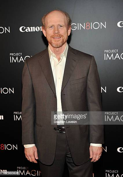 Executive producer Ron Howard attends the 'Long Live Imagination' campaign screening of 'When You Find Me' at the American Museum of Natural History...