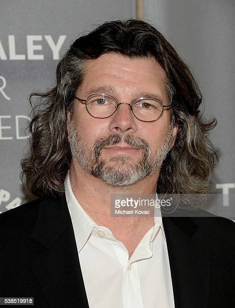 Executive producer Ronald D Moore attends The Paley Center for Media presents The Artistry of 'Outlander' at The Paley Center for Media on June 6...