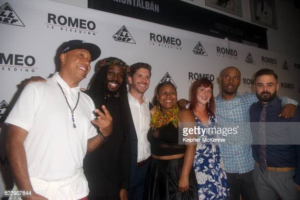 Executive Producer Russell Simmons actor Donte Clark Director Jason Zeldes actor D'neise Robinson actor Molly Raynor actor DeAndre Evans and Producer...