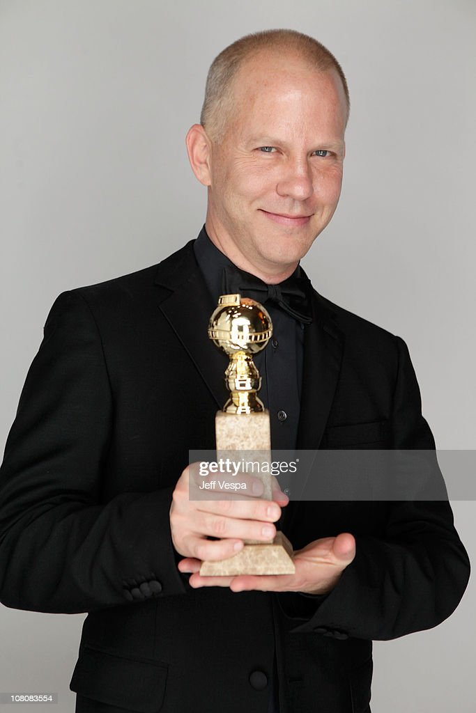 Executive Producer Ryan Murphy poses with the award for Best Television Series (Comedy or Musical) for 'Glee' backstage at the 68th Annual Golden Globe Awards held at The Beverly Hilton hotel on January 16, 2011 in Beverly Hills, California.