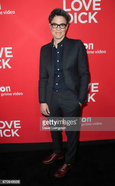 Executive producer Sarah Gubbins attends the premiere of Amazon's 'I Love Dick' at the Linwood Dunn Theater on April 20 2017 in Los Angeles California