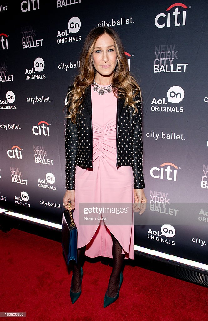Executive producer Sarah Jessica Parker attends AOL On's 'cityballet' series premiere at Tribeca Cinemas on November 4 2013 in New York City