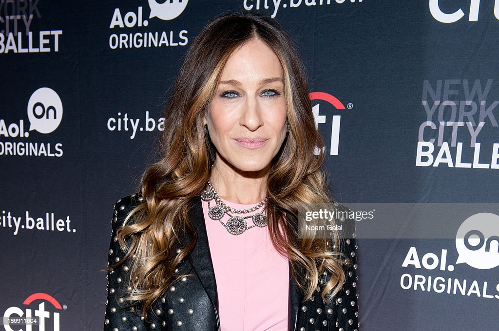 Executive producer <a gi-track='captionPersonalityLinkClicked' href=/galleries/search?phrase=Sarah+Jessica+Parker&family=editorial&specificpeople=201693 ng-click='$event.stopPropagation()'>Sarah Jessica Parker</a> attends AOL On's 'city.ballet' series premiere at Tribeca Cinemas on November 4, 2013 in New York City.