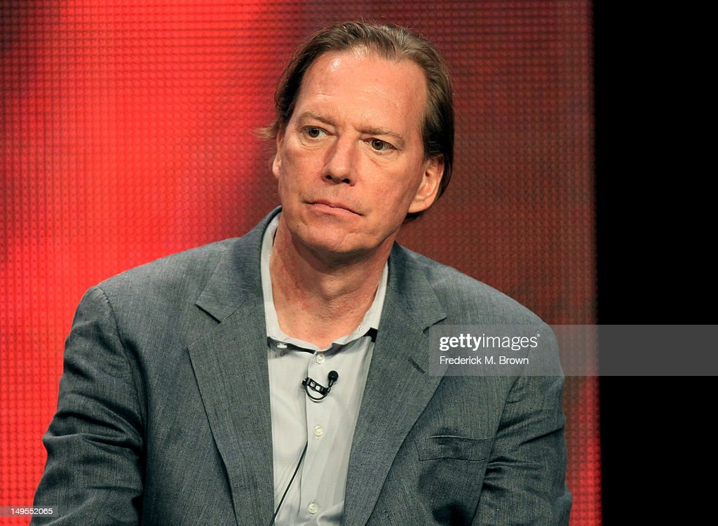 Executive producer Scott Buck speaks at the 'Dexter' discussion panel during the Showtime portion of the 2012 Summer Television Critics Association...