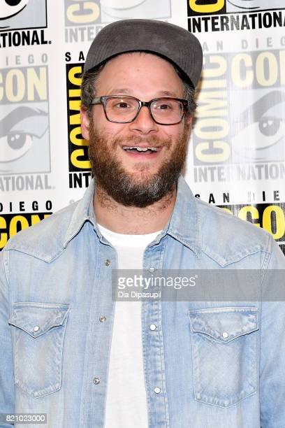 Executive producer Seth Rogen at Hulu's 'Future Man' Press Line duirng ComicCon International 2017 at Hilton Bayfront on July 22 2017 in San Diego...