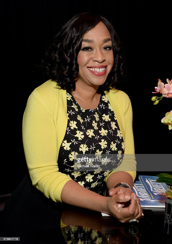 Executive producer Shonda Rhimes attends The Paley Center For Media's PaleyFest 2016 Honoring 'Scandal' at The Dolby Theatre on March 15 2016 in Los...