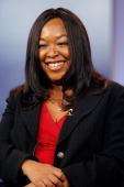 Executive producer Shonda Rhimes of 'Grey's Anatomy' speaks on the Showrunners Panel during the 2007 Winter Television Critics Association Press Tour...
