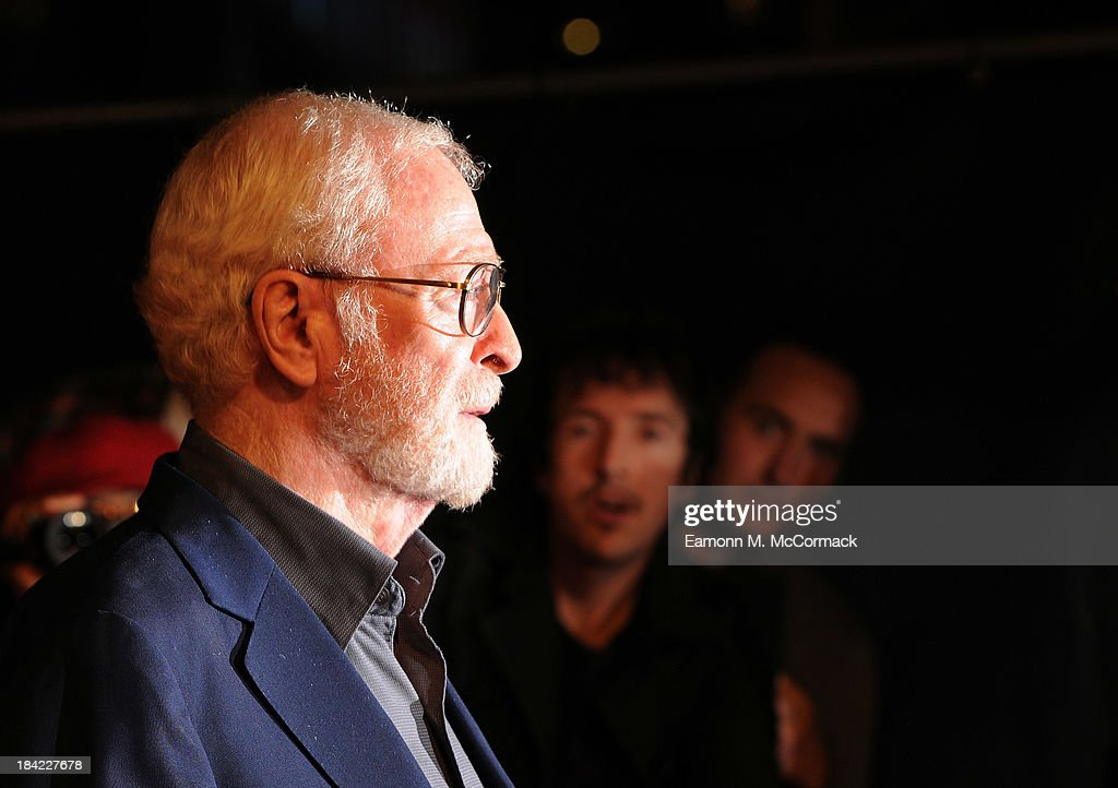 Executive Producer Sir <a gi-track='captionPersonalityLinkClicked' href=/galleries/search?phrase=Michael+Caine+-+Actor&family=editorial&specificpeople=159746 ng-click='$event.stopPropagation()'>Michael Caine</a> attends a screening of 'The Double' during the 57th BFI London Film Festival at Odeon West End on October 12, 2013 in London, England.