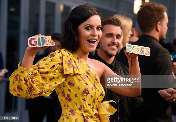 Executive producer Sophia Amoruso attends the premiere of Netflix's 'Girlboss' at ArcLight Cinemas on April 17 2017 in Hollywood California