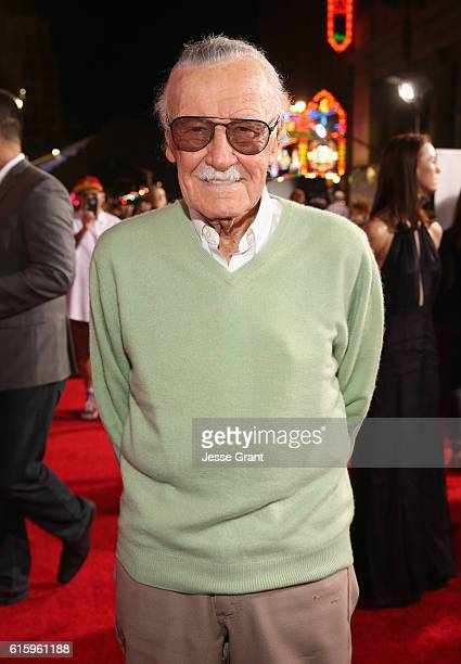 """Executive producer Stan Lee attends The Los Angeles World Premiere of Marvel Studios' 'Doctor Strange"""" in Hollywood CA on Oct 20th 2016"""
