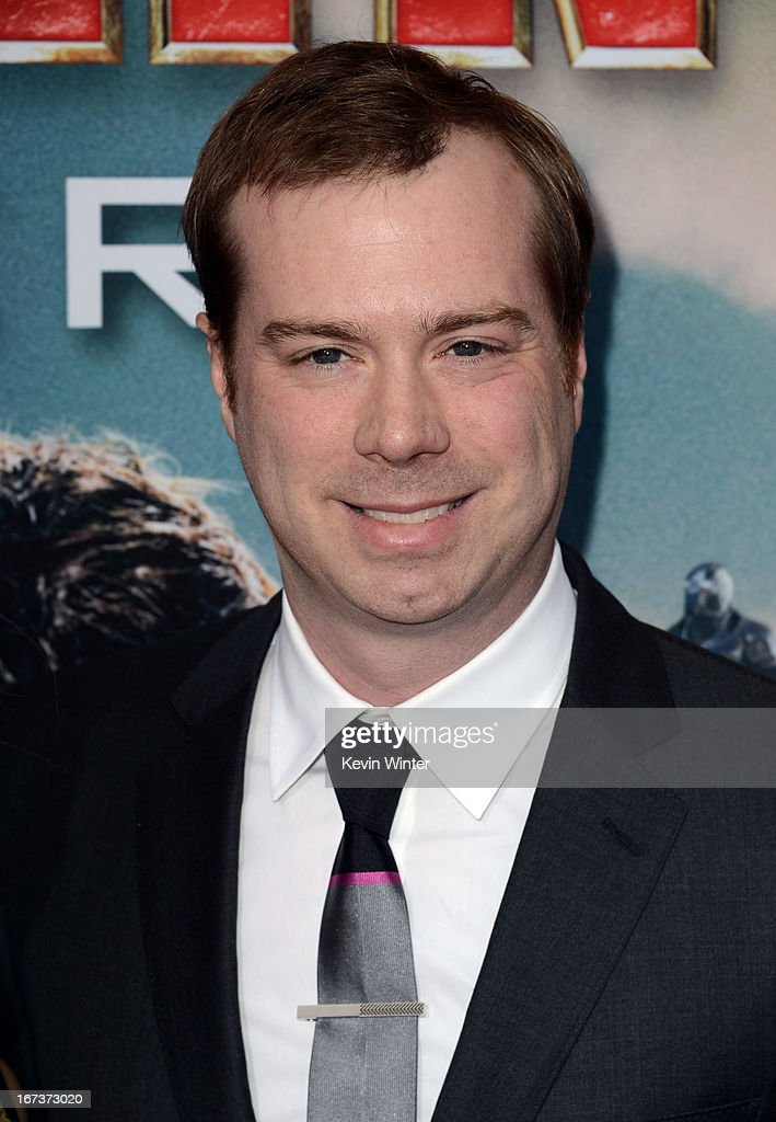 Executive producer Stephen Broussard arrives at the premiere of Walt Disney Pictures' 'Iron Man 3' at the El Capitan Theatre on April 24, 2013 in Hollywood, California.