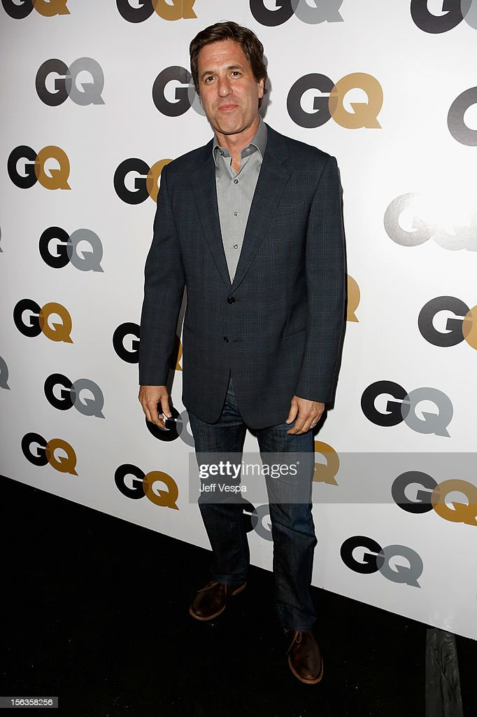 Executive producer <a gi-track='captionPersonalityLinkClicked' href=/galleries/search?phrase=Steven+Levitan&family=editorial&specificpeople=3219544 ng-click='$event.stopPropagation()'>Steven Levitan</a> arrives at the GQ Men of the Year Party at Chateau Marmont on November 13, 2012 in Los Angeles, California.