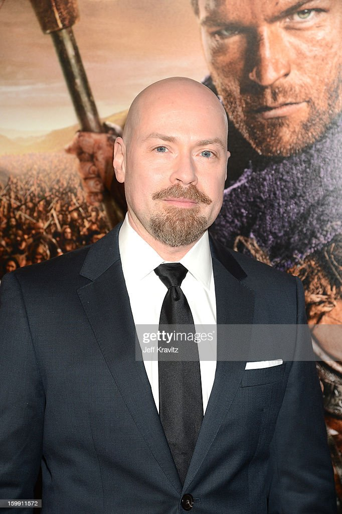 Executive producer Steven S. DeKnight attends the 'Spartacus: War Of The Damned' premiere at Regal Cinemas L.A. LIVE Stadium 14 on January 22, 2013 in Los Angeles, California.