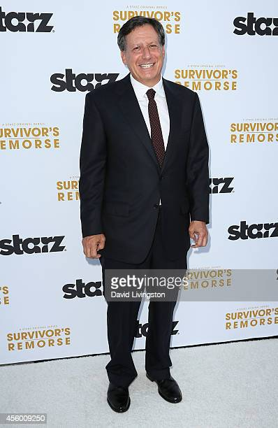 Executive producer Tom Werner attends the premiere of Starz 'Survivor's Remorse' at the Wallis Annenberg Center for the Performing Arts on September...
