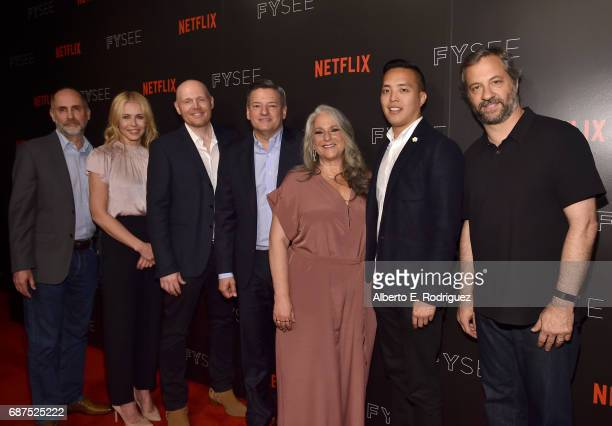Executive Producer Victor Fresco TV personality Chelsea Handler actor BIll Burr Ted Sarandos Chief Content Officer for Netflix Executive Producer...