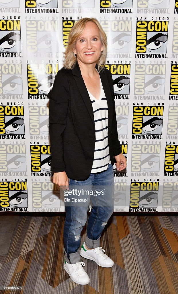 Executive producer Wendy Mericle at the 'Arrow' Press Line during Comic-Con International 2017 at Hilton Bayfront on July 22, 2017 in San Diego, California.