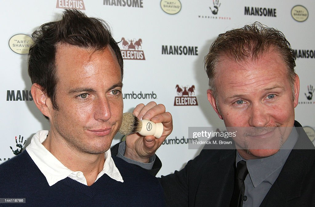 Executive producer <a gi-track='captionPersonalityLinkClicked' href=/galleries/search?phrase=Will+Arnett&family=editorial&specificpeople=209259 ng-click='$event.stopPropagation()'>Will Arnett</a> (L) and director <a gi-track='captionPersonalityLinkClicked' href=/galleries/search?phrase=Morgan+Spurlock&family=editorial&specificpeople=212719 ng-click='$event.stopPropagation()'>Morgan Spurlock</a> attend the premiere of <a gi-track='captionPersonalityLinkClicked' href=/galleries/search?phrase=Morgan+Spurlock&family=editorial&specificpeople=212719 ng-click='$event.stopPropagation()'>Morgan Spurlock</a>'s 'Mansome' at the ArcLight Cinemas on May 9, 2012 in Hollywood, California.