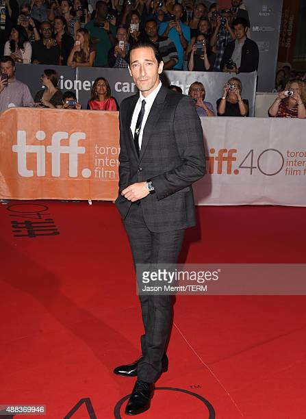 Executive producer/actor Adrien Brody attends the 'Septembers of Shiraz' premiere during the 2015 Toronto International Film Festival at Roy Thomson...