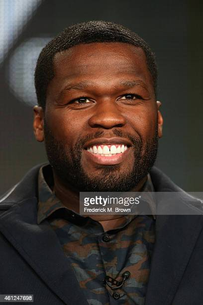 Executive Producer/Actor Curtis '50 Cent' Jackson speaks onstage during the 'Power' panel at the Starz portion of the 2015 Winter Television Critics...