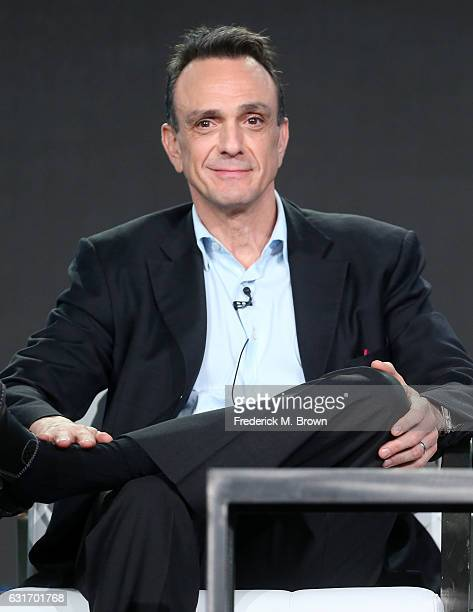 Executive producer/actor Hank Azaria of the series 'Brockmire' speaks onstage during the IFC portion of the 2017 Winter Television Critics...