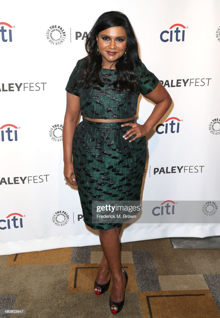 Executive Producer/Actress Mindy Kaling attends The Paley Center for Media's PaleyFest 2014 Honoring 'The Mindy Project' at the Dolby Theatre on...