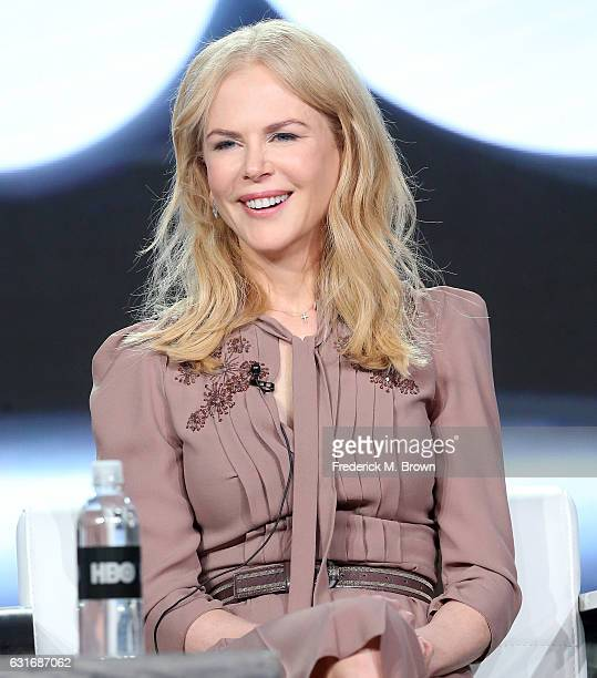 Executive producer/actress Nicole Kidman of the series 'Big Little Lies' speaks onstage during the HBO portion of the 2017 Winter Television Critics...