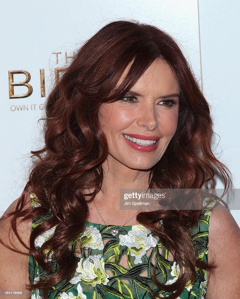 Executive Producer/actress Roma Downey attends 'The Bible Experience' Opening Night Gala at The Bible Experience on March 19, 2013 in New York City.