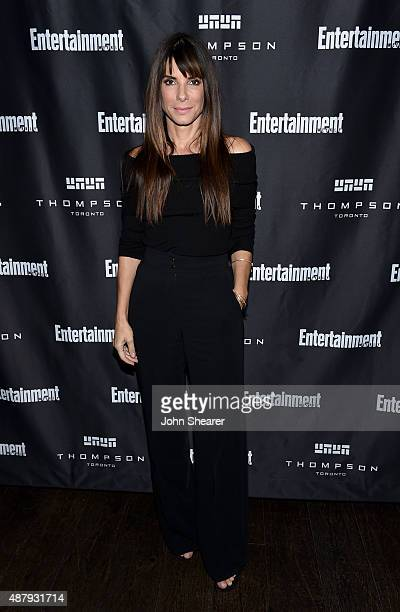 Executive Producer/actress Sandra Bullock attends EW's Must List Party during the 2015 Toronto International Film Festival at Thompson Hotel on...
