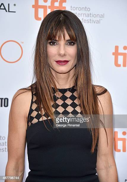 Executive Producer/Actress Sandra Bullock attends the 'Our Brand is Crisis' premiere during the 2015 Toronto International Film Festival at Princess...