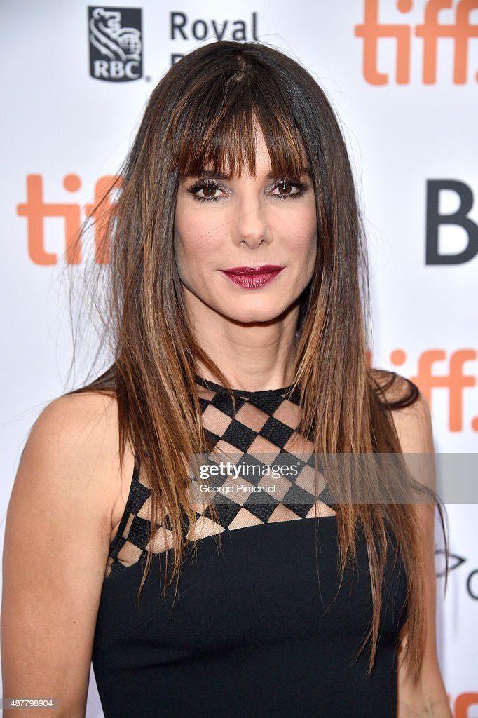 Executive Producer/Actress <a gi-track='captionPersonalityLinkClicked' href=/galleries/search?phrase=Sandra+Bullock&family=editorial&specificpeople=202248 ng-click='$event.stopPropagation()'>Sandra Bullock</a> attends the 'Our Brand is Crisis' premiere during the 2015 Toronto International Film Festival at Princess of Wales Theatre on September 11, 2015 in Toronto, Canada.